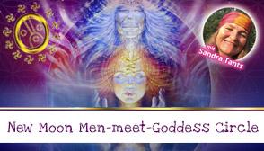 New Moon Men-Meet-Goddess Circle