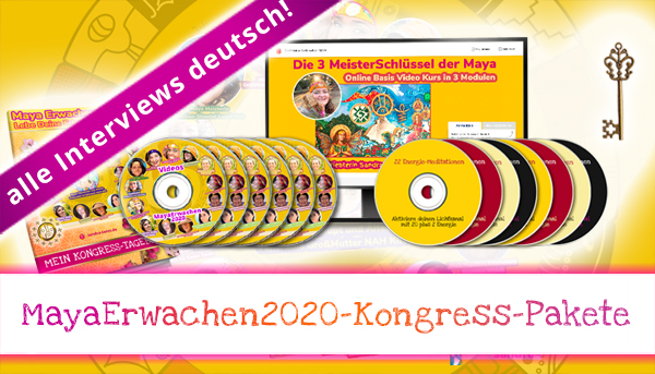Kongress-Pakete MayaErwachen2020-Kongress