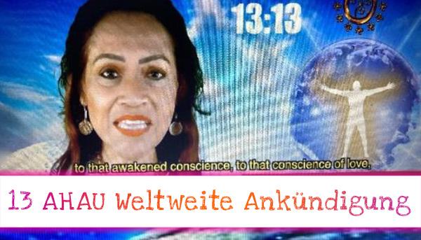 Weltweite Ankündigung zum Schwingungsaufstieg der Menschheit 13:13